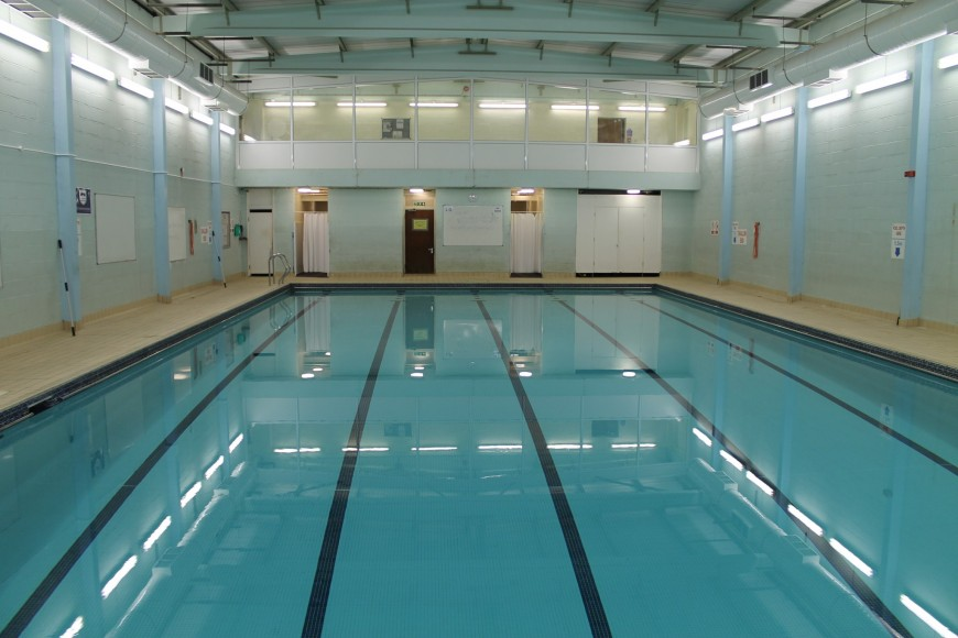 Moulsham High School swimming pool